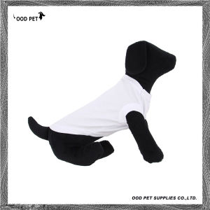 Plain Dog Shirt White Spt6002-1