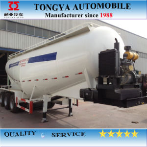 30cbm Bulk Cement Tank Semi Trailer/Bulk Cement Truck pictures & photos