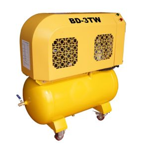 3HP ~10HP Belt Driven Small Size Portable Scroll Air Compressors pictures & photos