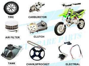 China 2 Stroke Mini Dirt Bike Parts (all parts provided) - China ... fbbe3968dce7