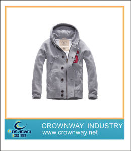 100% Cotton Jacket with Hoodie for Man, New Design pictures & photos