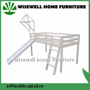 China Pine Wood MID Sleeper Castle Bunk Bed with Slide - China Loft ... 4b85b5903