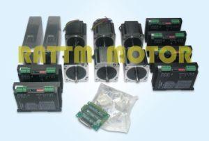 6 NEMA34 878 Oz-in Torque Stepper Motors&256 Microstep 6A Driver CNC Kit