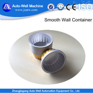 Smooth Wall Aluminium Foil Container for Airline pictures & photos