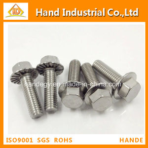 Stainless Steel 304 DIN6921 Flange Head Hex Bolt pictures & photos