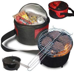BBQ Grill with Cooler Bag pictures & photos