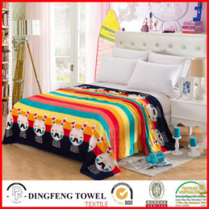2016 New Season Coral Fleece Blanket with Printed Df-8842 pictures & photos