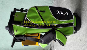 Genuine Leather Golf Bag Golf Stand Bag pictures & photos