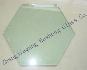6mm Clear Hexagon Tempered Glass