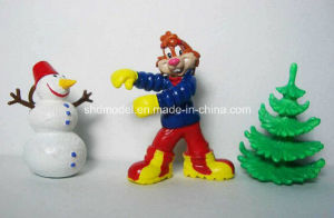 Plastic Snow Man Action Figures for Promotion (OEM) pictures & photos