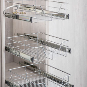 Pull out Basket for Kitchen Cabinet