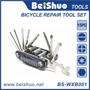 2016 New Design 15 in 1 Bicycle Repair Tool Multi Tool pictures & photos