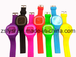 Lovely Colorful Silicone Jelly Watch (FY-540)