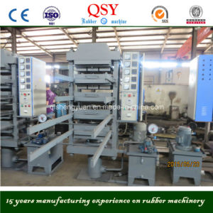 Rubber Floor Tiles Making Machine/Vulcanizing Press pictures & photos