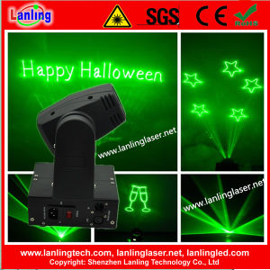 100MW Green Mini Moving-Head Text Projector pictures & photos