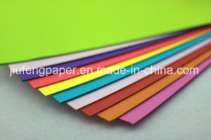 Top Grade 100% Wood Pulp Uncoated Color Paper for Origami pictures & photos