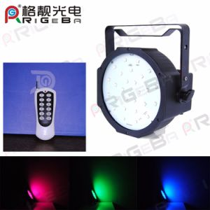Wireless Battery Stage Party 27LEDs RGB 3in1 LED PAR Can Light pictures & photos