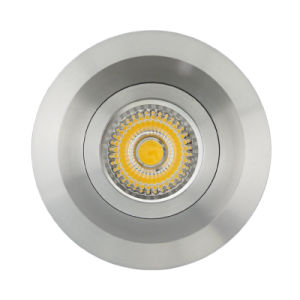Aluminum Die Casting GU10 MR16 Round Recessed Fixed LED Downlight (LT2120) pictures & photos