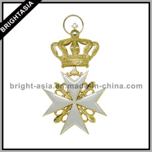 Gold Plating 3D Crown Key Ring for Promotional Gift (BYH-10691) pictures & photos