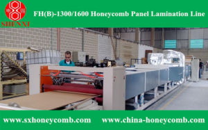 Hf (B) -1450 Honeycomb Paperboard Machine Line pictures & photos