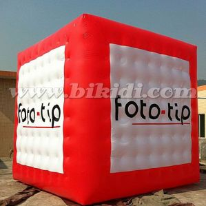 Giant Cube Helium Balloon, Inflatable Square Cube Flying Balloon for Advertising K7170 pictures & photos