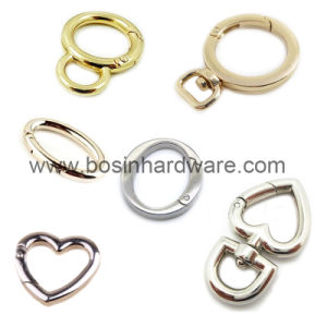 Metal Flat Key Ring Open Gate O Ring pictures & photos