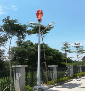 IP65 Light Pole 6m-12m Hybrid Solar Wind Controller in Solar Street Light