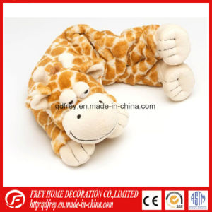 Bed Warmer Heated Neck Pillow with Tiger Leopard, Giraffe pictures & photos