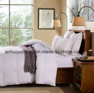 Patchwork Baffle Design Goose Down Duvet pictures & photos