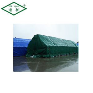 Supply China Waterproof Anti-UV Protection PVC Coated Fabric Tarpaulin Cover for Cargo