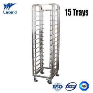 China 15 Trays Restaurant Stainless Steel Shelving Rack for Kitchen ...