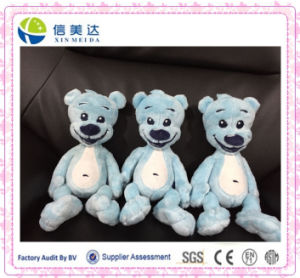 Plush Blue Bear Stuffed Customized Company Mascot pictures & photos