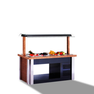 Cold Salad Bar Display Refrigerator Catering Equipment Guangzhou