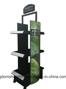 Trays Stand Wine Accessories Plastic Floor Display for Wine