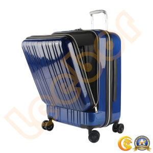 Waterproof Computer/Travel Suitcase Black/Red/Blue/White/Grey ABS Luggage Factory Trolley Luggage