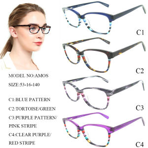 e3d7f1a86e60 China Eyeglass Frame Women Fashion Eyewear Plastic Optical Frame ...