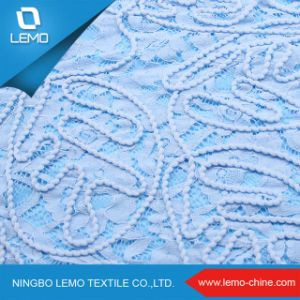 2016 Top-End Handmade Embroidery Beads Bridal Lace Fabric