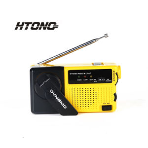 Survival Hand Crank Am/FM/Sw/Noaa Solar Dynamo Portable DAB Radio pictures & photos
