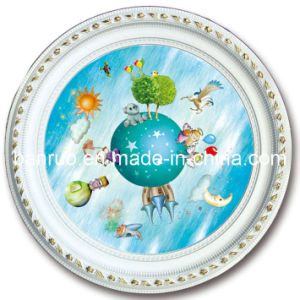 Plastic Artistic Ceiling Panel for Hotel Decoration (BRRD80-T-007) pictures & photos