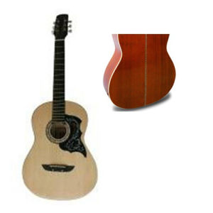 China 39 Acoustic Guitar With White Abs Binding Color Strip At