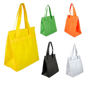 Coloured Non-Woven Bag with Hook & Loop pictures & photos