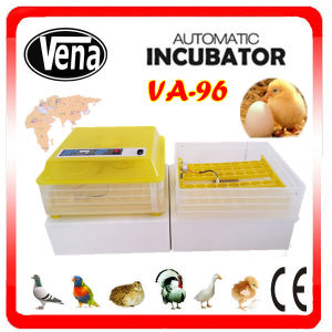 96 Chicken Eggs CE Approved Full Automatic Chicken Egg incubator for Sale pictures & photos