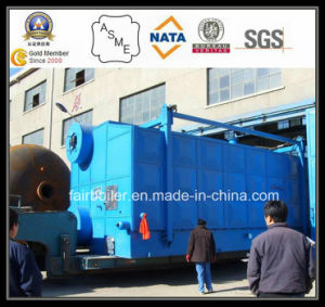 Oil Gas Boilers Price of Water Tube Type Gas / Oil Fired Steam / Hot Water Boiler