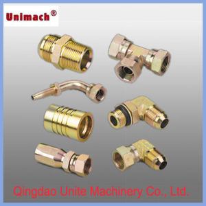 45° JIS Gas Female 60° Cone Seat JIS B8363 Hydraulic Fitting pictures & photos