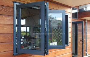 Bifold Openness Double Glass Aluminium Windows Prices pictures & photos