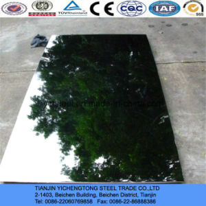 410 Mirror Stainless Steel Sheet for Decoration pictures & photos