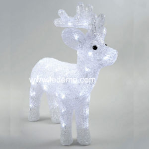 LED Decoration Acrylic Deer Christmas Light (LDM-Deer-43CM)