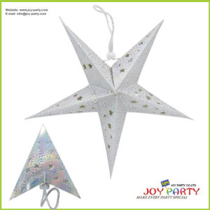 Silver Lacer Star Paper Lantern