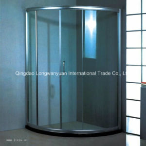 Low-E CE/as Standard Tempered Shower Room Glass (LWY-TG36)