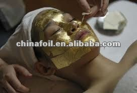 Manufacturing Gold Leaf 24k for Facial